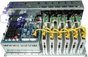 شکل (۵) کنترلر دستگاه CNC سنگ زنی چرخدنده های مخروطی مارپیچ