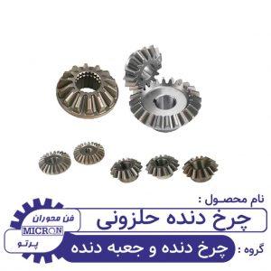 چرخ دنده حلزونی
